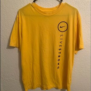 Nike dry fit livestrong shirt